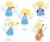 Musical angels.