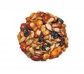 Kozinaki (national Georgian Sweetness - Nuts In Honey) Is Isolated