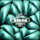 Stone blue background for your ideas