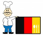 Chef Germany Represents Cooking In Kitchen And Catering