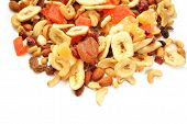 Fruit And Nut Trail Mix With Room For Copy Space