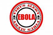 Ebola Virus Alert, Danger Sign