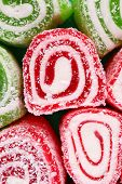Tasty Turkish delight background
