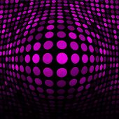 Abstract Pink Technology Background