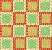 Quilting pattern with Cherries