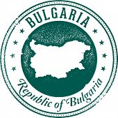 Republic of Bulgaria European Country Stamp