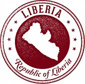 Liberia African Country Stamp