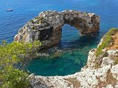 Famous Stone Arch, Majorca Sa Torre, Spain
