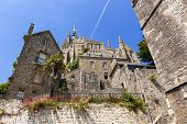 picture of michel  - Mont Saint Michel on brilliant summer day - JPG