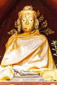 Golden Buddha Statue Shan Style