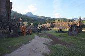 Champasak Loas-november 21: Visitor In Prasat Wat Phu Important Lanamark And World Heritage Site