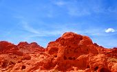 picture of valley fire  - Valley of fire State park in Nevada - JPG
