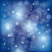 Abstract sparkling celebration lights background