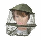 picture of bee keeping  - Wearing a bee keeper hat to keep bees and other bugs out of the person - JPG