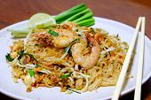 Stir-fried Rice Noodle With Prawns