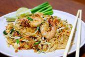 Stir-fried Rice Noodle With Prawns