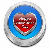 Happy Valentine's Day button