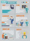 Businessman Working Infographics