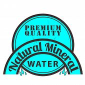 Natural Mineral Stamp
