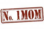 No One Mom Stamp