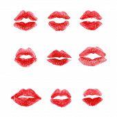 kiss lips
