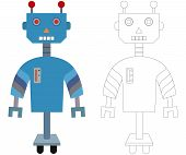 Color the Robot
