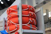 stock photo of nautical equipment  - Lifeguard belt - JPG