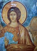 frescoe in Church of the Transfiguration of Our Savior, Novgorod, Russia