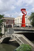 Riverwalk and Sculpture