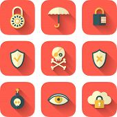 Set Of App Security Icons
