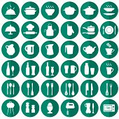 kitchen icons,