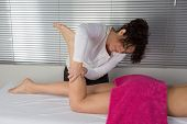 Legs And Buttocks Massage To Reduce Cellulite And Preserve An Healthy Look