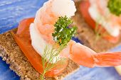 Prawns Canapes