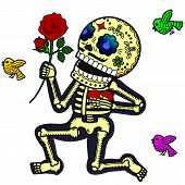 Funny skeletons_Crazy in love