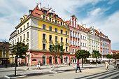 People Visit Rynek (market Square) In Wroclaw