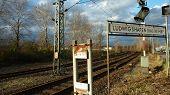 Outskirts of Ludwigshafen Main Railway Station