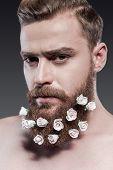 Taking Good Care Of His Beard.