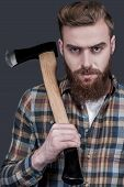 Just Me And My Axe.