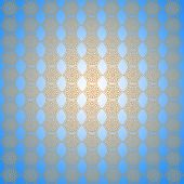 Wall-papers With Abstract Light Patterns On The Light Blue