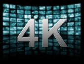 4K Resolution Tv Concept