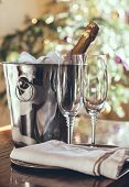 Luxury Holiday Table Setting