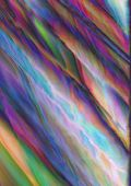 pic of vibrator  - Vivid colored abstract background with vibrating variegated waves - JPG