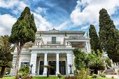 picture of sissi  - Achillion palace in Corfu island  - JPG