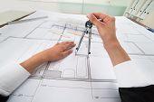 picture of blueprints  - Close - JPG