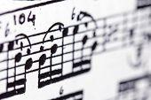 Постер, плакат: Musical Score