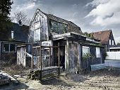 stock photo of abandoned house  - old abandoned house nice images see them all - JPG