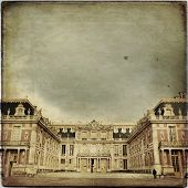 picture of chateau  - Outside view of Famous palace Versailles - JPG