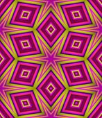 stock photo of lsd  - Seamless pattern with abstract motif like a kaleidoscope - JPG