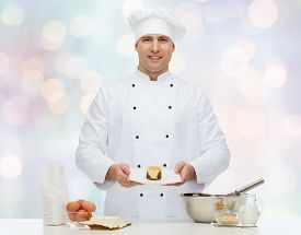 image of pastry chef  - cooking - JPG