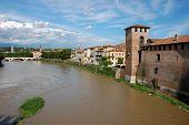 View of Verona, Italy.